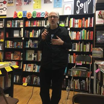 Sachs at Book Soup